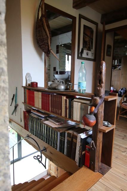 garde corps biblioth que campagne escalier lyon par corear. Black Bedroom Furniture Sets. Home Design Ideas