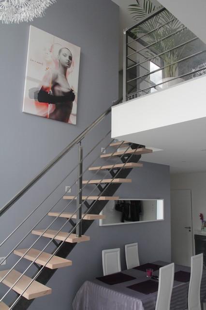 garde corps en kit pour escalier et mezzanine. Black Bedroom Furniture Sets. Home Design Ideas