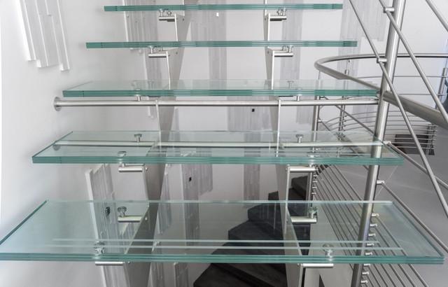 garde corps inox design r gion canne contemporain escalier paris par. Black Bedroom Furniture Sets. Home Design Ideas