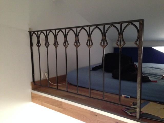 garde corps rambarde balcon contemporain escalier toulouse par fer et pierre. Black Bedroom Furniture Sets. Home Design Ideas
