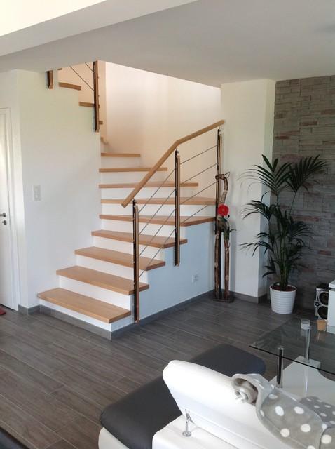 Habillage et garde corps pour escalier b ton - Escalier beton design ...