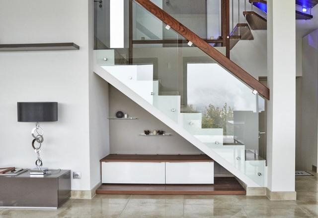 habillage et garde corps pour escalier b ton contemporain escalier strasbourg par. Black Bedroom Furniture Sets. Home Design Ideas