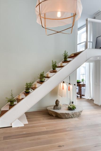 jean jacques rousseau asian staircase paris by meero. Black Bedroom Furniture Sets. Home Design Ideas