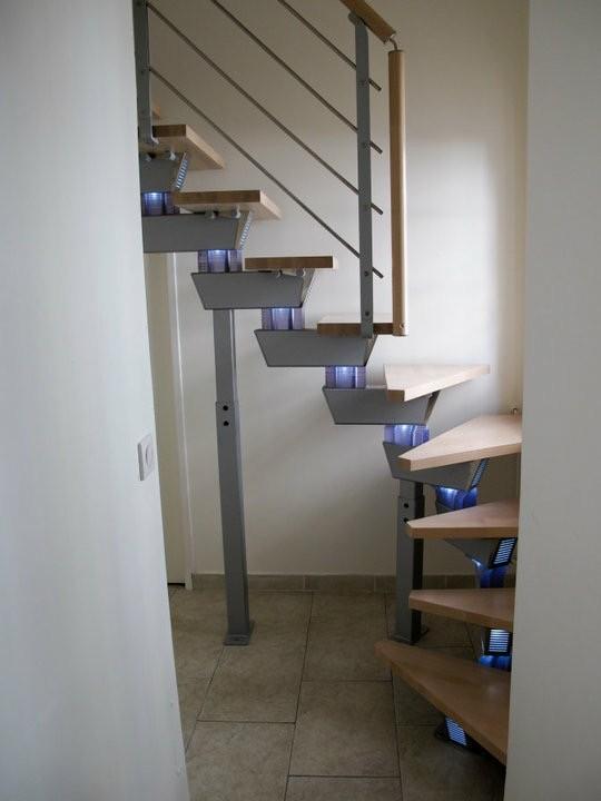 L'escalier bois metal