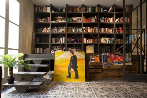 La belle époque. Flat in Madrid - Bibliothèque
