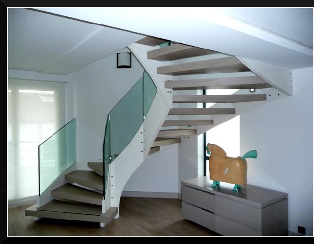 Les escaliers bois m tal - Escalier helicoidal bois metal ...