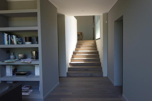 interieur maison demi niveau. Black Bedroom Furniture Sets. Home Design Ideas