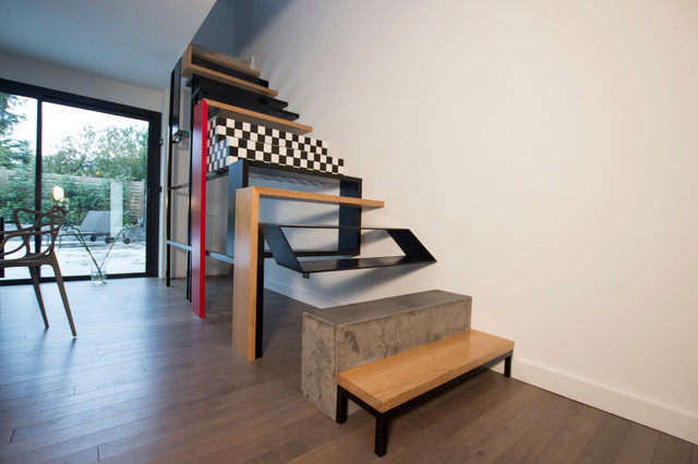 Interieur maison contemporaine escalier - Interieur maison design contemporain ...