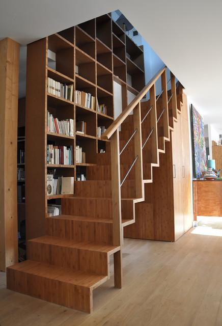 Maison individuelle en ossature bois contemporary for Architecte maison individuelle