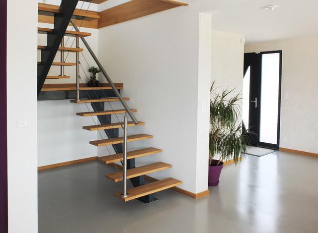 maison mixte bois b ton cellulaire. Black Bedroom Furniture Sets. Home Design Ideas