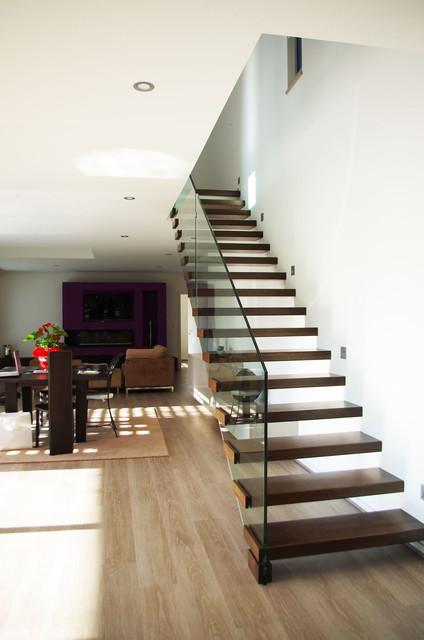 Maison neuve - Minimalistisch - Treppen - Straßburg - von HOFFERT ...