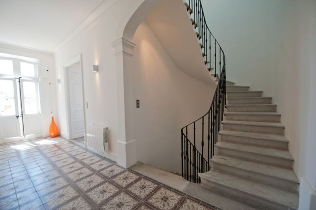 Renovation maison de maitre contemporary staircase other metro by ren - Decoration maison de maitre ...