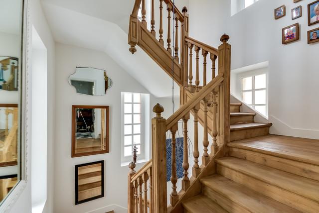 R novation parc de la malmaison classique escalier paris par villa rosemont - Parc de la malmaison ...