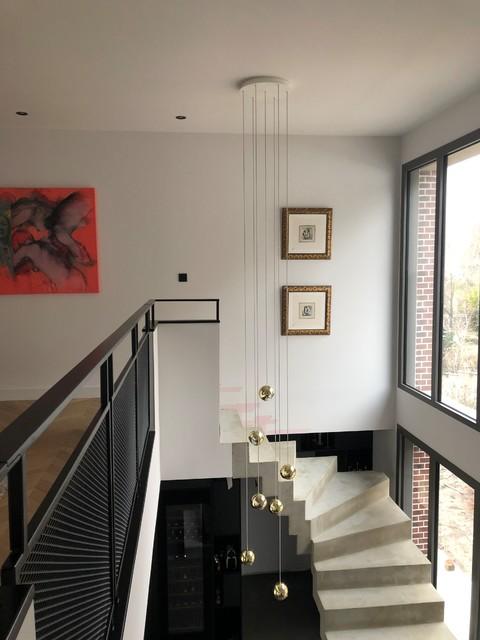 Un Escalier béton magistral - Décoration d\'une maison ...