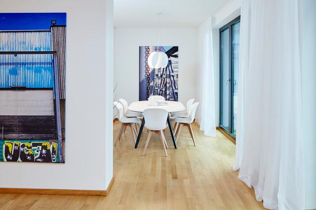 4 zimmer wohnung in hamburg hafencity modern esszimmer hamburg von home styling hamburg. Black Bedroom Furniture Sets. Home Design Ideas