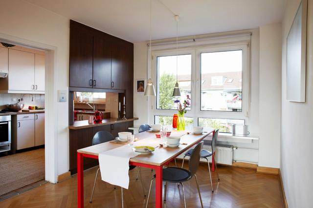 Bewohnte Immobilie Modern Esszimmer