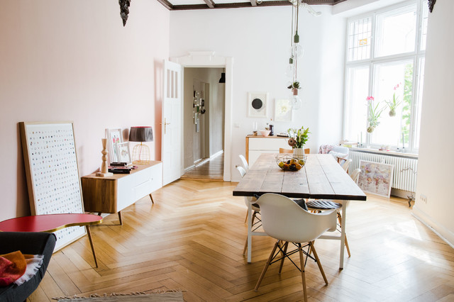 Ein Hauch Von Kapstadt: Modernes Design Trifft Gründerzeit Wohnung  Eklektisch Esszimmer