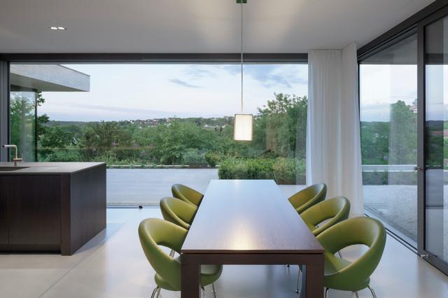 Einfamilienhaus wohnen mit weitblick minimalistisch for Minimalistisch wohnen vorher nachher