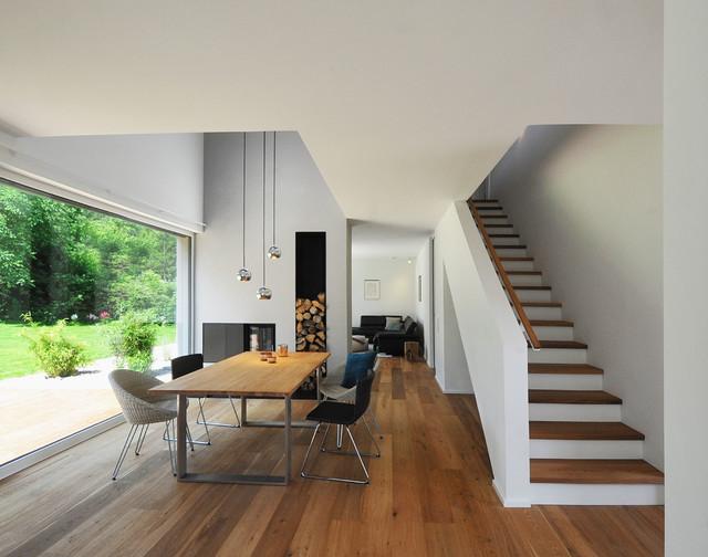 Essbereich Mit Galerie Modern Esszimmer