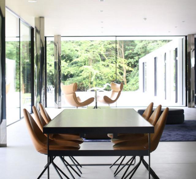 esszimmer inspiration mit ausziehbare esstische. Black Bedroom Furniture Sets. Home Design Ideas