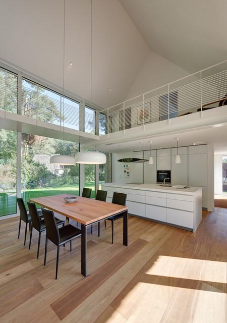 Architekt Stadtlohn galerie über dem essbereich contemporary dining room berlin