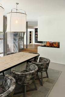 villa dreieichenweg hamburg modern esszimmer hamburg. Black Bedroom Furniture Sets. Home Design Ideas