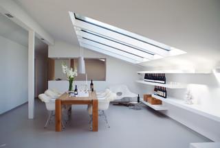 Haus t modern esszimmer stuttgart von karl kaffenberger architektur einrichtung - Esszimmer stuttgart ...