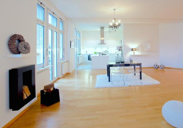 Außergewöhnlich Home Staging Altbau Modern Esszimmer