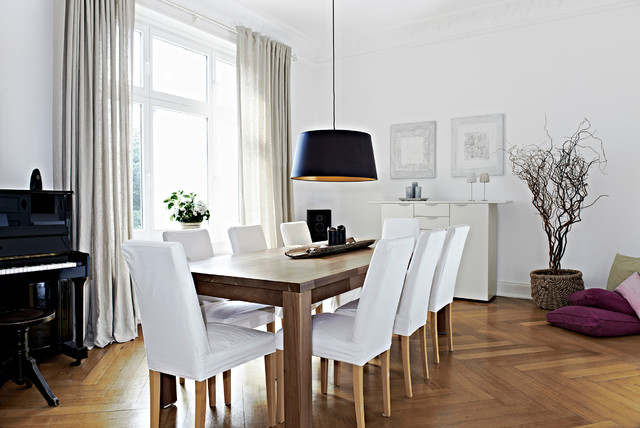Home staging altbauwohnung in hamburg eppendorf modern for Sitzecke esszimmer modern