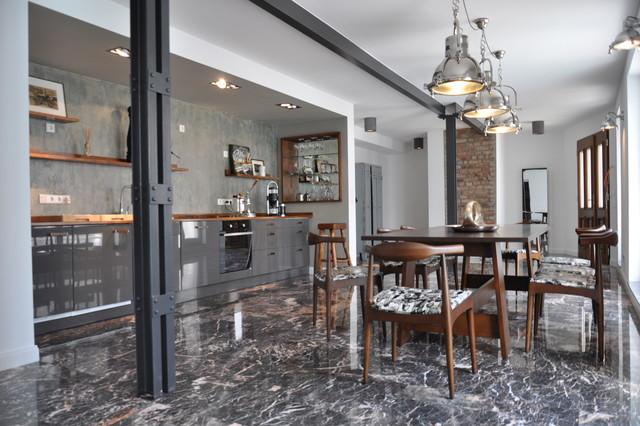 Industrial glamour 130m loft im stil der 20er jahre bei for Wohnzimmer 20er jahre