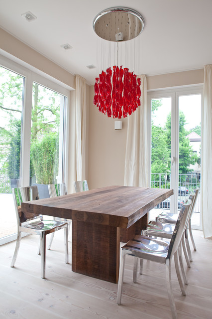 Innenarchitektur privathaus contemporary dining room