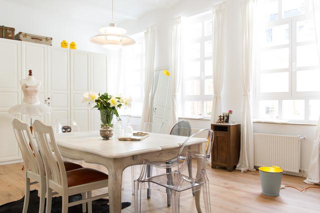 Modern Romantic Living Room Shabby Chic Style Esszimmer