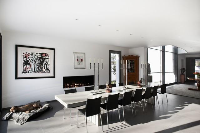 Neubau einfamilienhaus wiesbaden contemporary dining for M dining room frankfurt