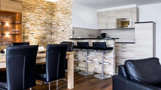 Norderney Ferienwohnung Modern Esszimmer