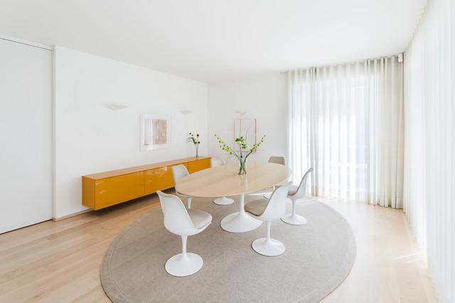 Penthouse bonn minimalistisch esszimmer köln von studio