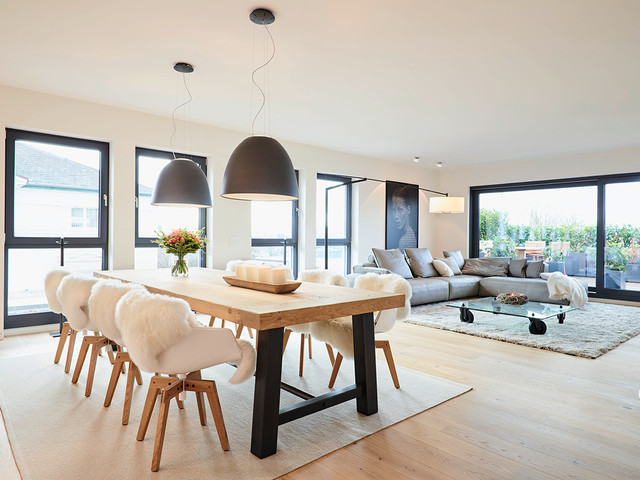 Penthouse esstisch contemporary dining room for M dining room frankfurt