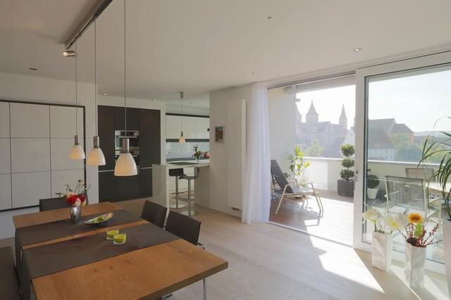 privathaus ellwangen minimalistisch esszimmer stuttgart von architekturlevel. Black Bedroom Furniture Sets. Home Design Ideas