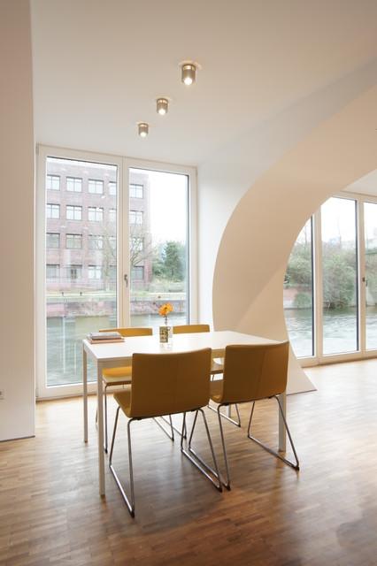 projekt bootshaus modern esszimmer m nchen von. Black Bedroom Furniture Sets. Home Design Ideas
