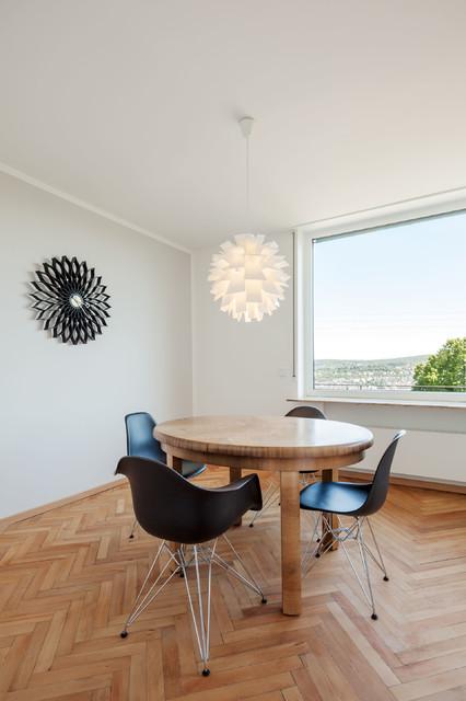 reihenmittelhaus stuttgart - nord - skandinavisch - esszimmer, Esszimmer dekoo