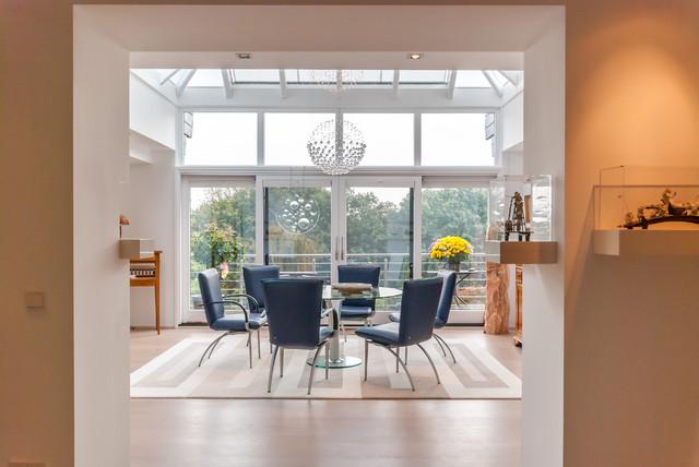 Renovierung Eines Einfamilienhauses Modern Esszimmer