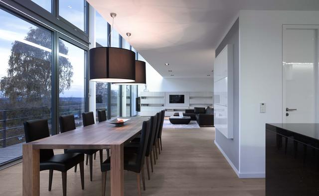 residential building diemer architekten germany modern esszimmer other metro von. Black Bedroom Furniture Sets. Home Design Ideas
