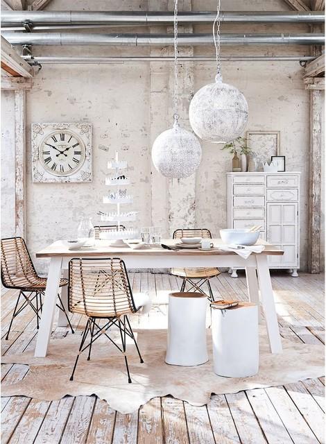 Rustikaler Look Fur Das Esszimmer Shabby Chic Style Dining Room