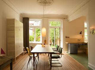 stadthaus in hamburg eklektisch esszimmer hamburg. Black Bedroom Furniture Sets. Home Design Ideas