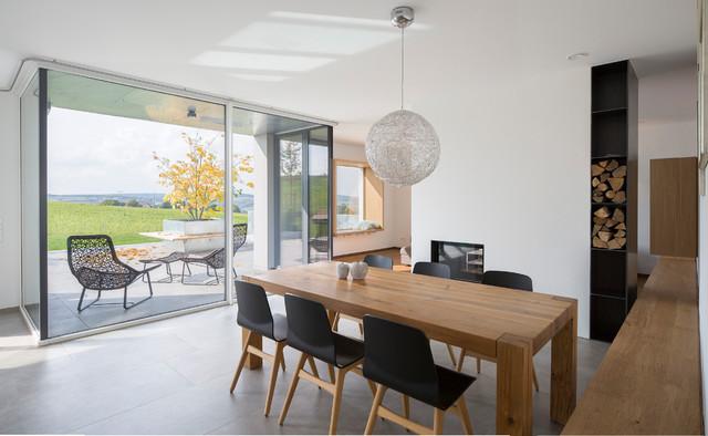 houzzbesuch wohnen mit durchblick in einem regensburger neubau. Black Bedroom Furniture Sets. Home Design Ideas