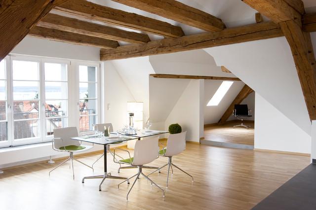 Umbau altes b rgermeisterhaus modern esszimmer stuttgart von w3 architekten - Esszimmer stuttgart ...