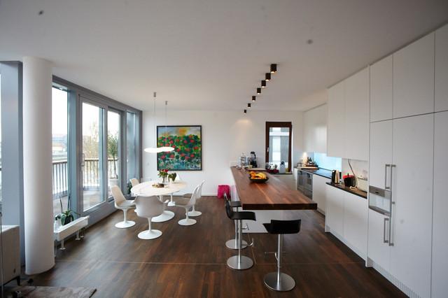 Umbau wohnung im westhafen frankfurt am main for M dining room frankfurt