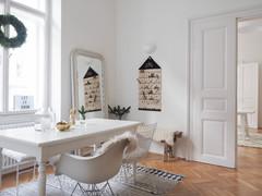 Houzz Австрия: Белое Рождество и белая квартира в Вене