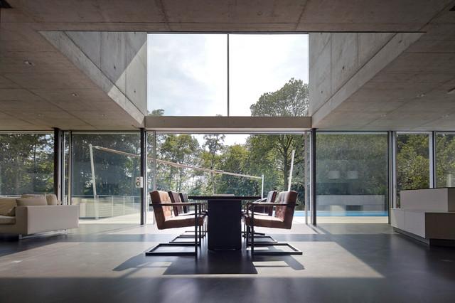 wohnhaus düsseldorf k15 - minimalistisch - esszimmer - düsseldorf, Esszimmer