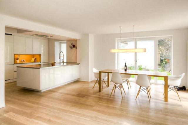 wohnhausumbau wohnk che. Black Bedroom Furniture Sets. Home Design Ideas
