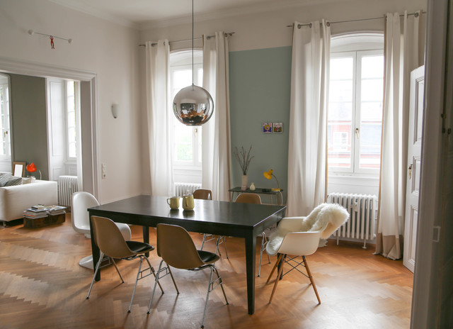 Wohnung in barocker villa for M dining room frankfurt